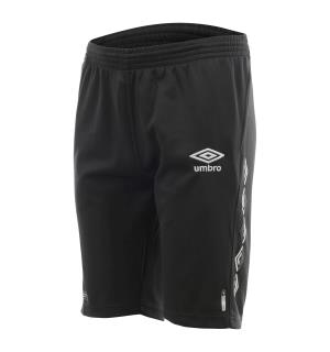 UMBRO UX-1 Long Shorts Sort XS Teknisk lang treningsshorts
