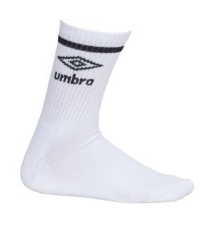 UMBRO Core Tennis Socks 3 pk Hvit 40-44 Gode tennissokker