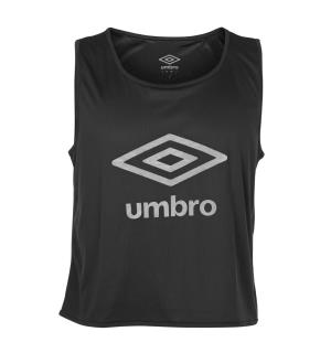 UMBRO Core Mark Vest Sort JR Markeringsvest i mesh med logo